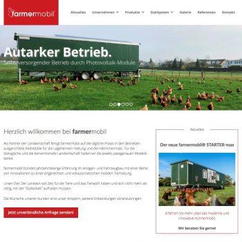 Farmermobil Webdesign by Philipp Posmyk